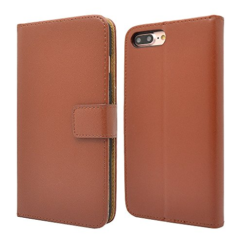 Apple iPhone Genuine Leather Case, Premium Leather Wallet Case with...