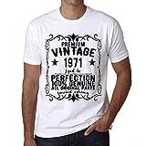 One in the City Premium Vintage Year 1971 Cumpleaños de 50 años Vintage Camiseta cumpleaños Camisetas Camiseta Regalo