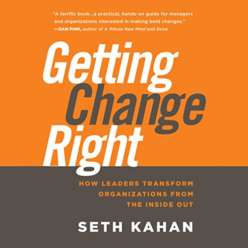 Getting Change Right audiobook cover art