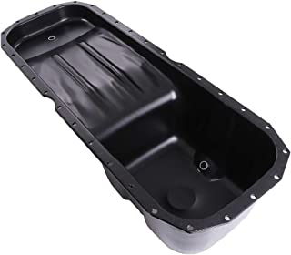 TUPARTS Engine Oil Pan for Peterbilt 320 365 367 384 386 388 389 567 579 08 09 10 11 12 13 14 15 16 with Engine Oil Drain Pan with OE 264-5005 Oil Drip Pan Oil Change Pan