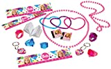 Amscan–395968–55Barbie Sparkle juguete favor Pack