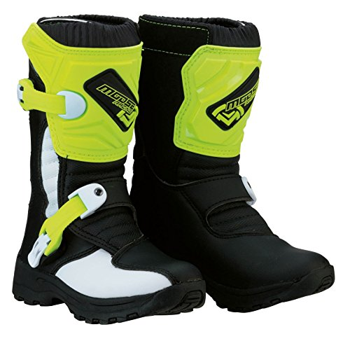 Moose Racing 2018 M1.3 - Botas de motocross para niños, color negro