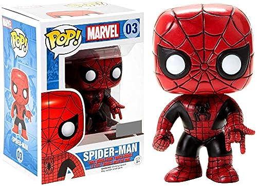 venta Funko 024795Pop Marvel  Spider-Man rojo and negro negro negro Limited 03de Bobble Head Figure  en venta en línea