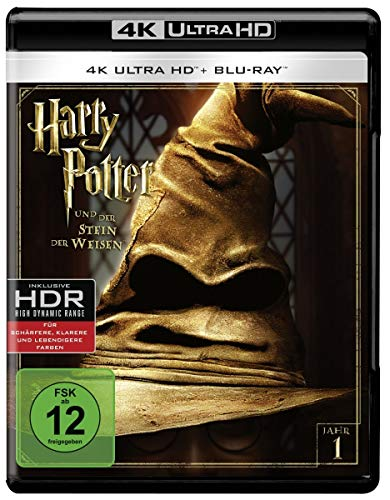 Harry Potter und der Stein der Weisen (4K Ultra HD + 2D-Blu-ray) (2-Disc Version)