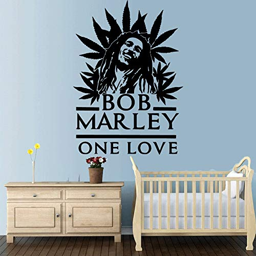 Diy Bob Marley Vinilo Autoadhesivo Papel Pintado Para Niños