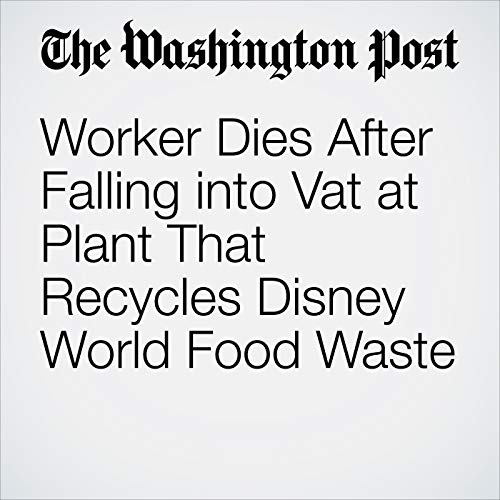 Worker Dies After Falling into Vat at Plant That Recycles Disney World Food Waste copertina