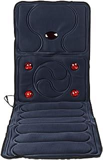 Masajeador Cervical Cojín de Masaje eléctrico Cojín de Masaje de calefacción Plegable Vibración Cojín de Masaje Multifuncional de Cuerpo Completo Cojín de colchón Cojín de Silla, 165 × 58 × 3 cm