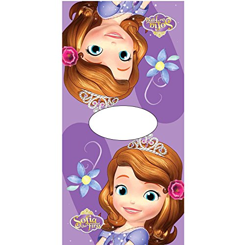 Poncho toalla Princesa Sofia Purple