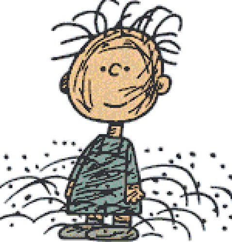 Peanuts Character Pig Pen Counted Cross Stitch Pattern
