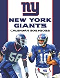 New York Giants Calendar 2021-2022: Calendar for Fans - Mini Calendar 2021-2022