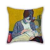 45 x 45 cm pintura al óleo Harold Gilman – Fundas de almohada...
