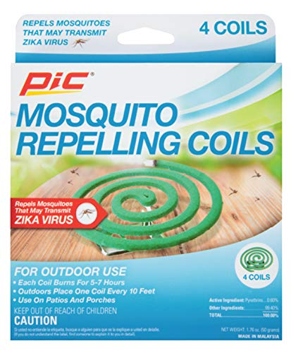 4-Pack PIC Mosquito Repellent Coils  $0.98 at Amazon