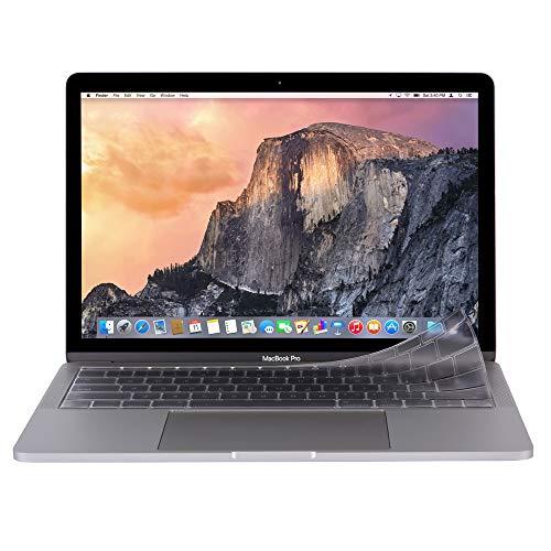 moshi Clearguard MB without TB (US) [USキーボード用] キーボードカバー (MacBook 12インチとTouchBarのない2016年〜17年発売のMacBook Pro 13インチ用) (製品登録で10年グローバル保証)