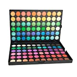 ZJB Eyeshadow Palette Pro 120 Colors Highly Pigmented Shimmer Eye Shadow Palette Blendable Long Lasting Waterproof Makeup Cosmetics (A)