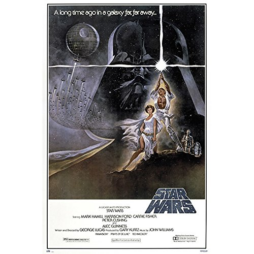 Grupo Erik GPE5130 Poster Star Wars Classic La Guerra De Las Galaxias Cartel, carta, Multicolore, 91 x 61,5 x 0,1 cm