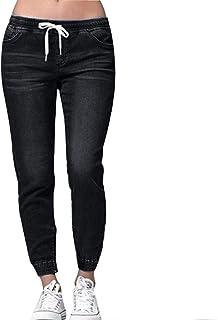 Morbuy Vaqueros Mujer Cintura Alta Talla Grande, Push Up Rotos EláStico Rectos Tejanos Skinny Slim Boot Cut Boyfriend Jean...