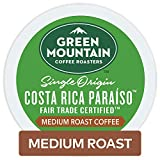 Green Mountain Coffee Roasters Costa Rica Paraiso, Single-Serve Keurig K-Cup Pods, Medium Roast Coffee, 72 Count