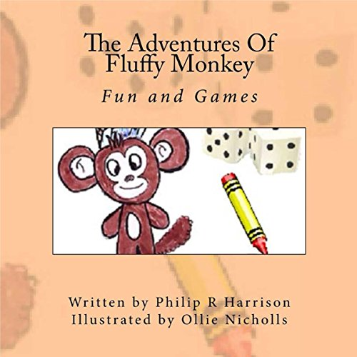 The Adventures of Fluffy Monkey audiobook cover art