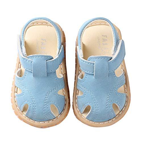 Miyanuby Sandalias Bebe Niño Verano Suela Suave Antideslizante Primeros Zapatos para Niños...