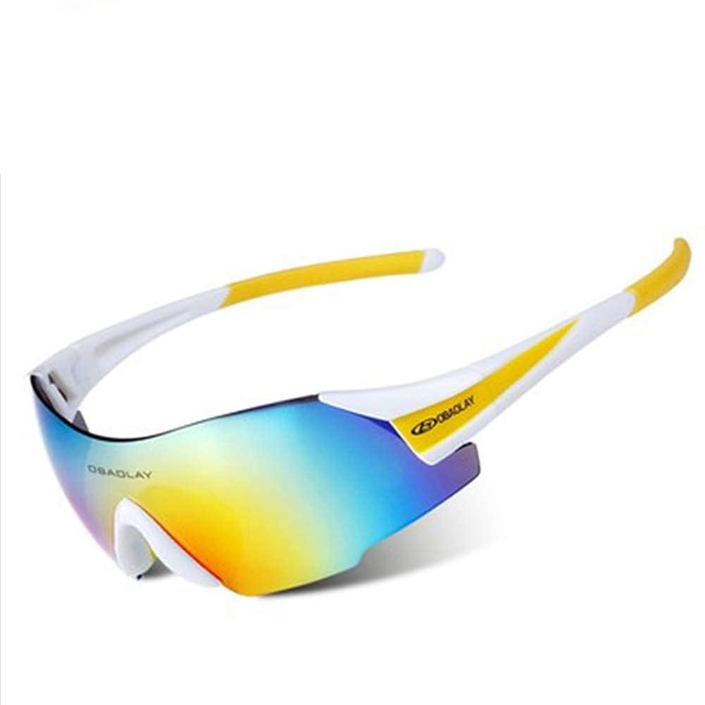 ぐるぐる残酷動アウトドアサイクリングメガネゴーグルファッションスポーツサングラスサイクリングランニングサングラスに適した超軽量ボーダーレスメガネ