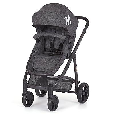 Dream On Me Mia Moda Marisa Three-in-One Stroller, Grey by Dream on Me Dropship