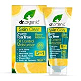 Dr. Organic Crema Idratante Viso, Skin Clear, 50 ml