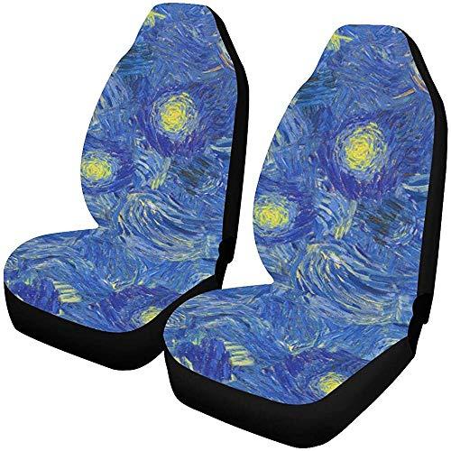 Große Autoabdeckung Breite Zusammenfassung Van Gogh Style Autositzbezüge Protektor Fahrzeug Kleinkind Autoabdeckung