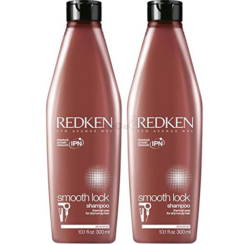 REDKEN Smooth Lock Shampoo Aktion 2x 300ml = 600ml