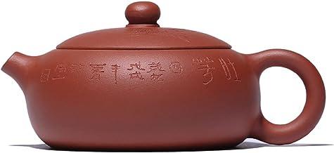 JIAZHOUMA Fioletowa glina Yixing czajniczek filiżanka do herbaty błoto ręcznie rzeźbiony czajnik Kung Fu 120 CC