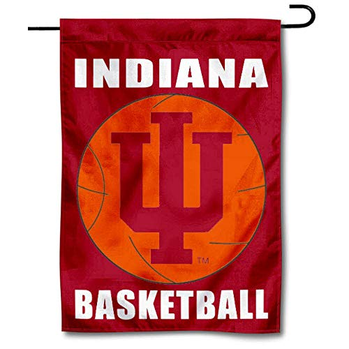 College Flags & Banners Co. Indiana Hoosiers Basketball Garden Flag