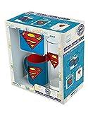 ABYstyle - DC Comics - Coffret Cadeau - Verre 29cl + Coaster + Mini Mug Superman