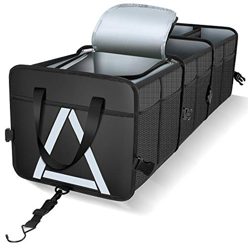 Our #6 Pick is the Knodel Sturdy Car Trunk Organizer with Premium Insulation Cooler
