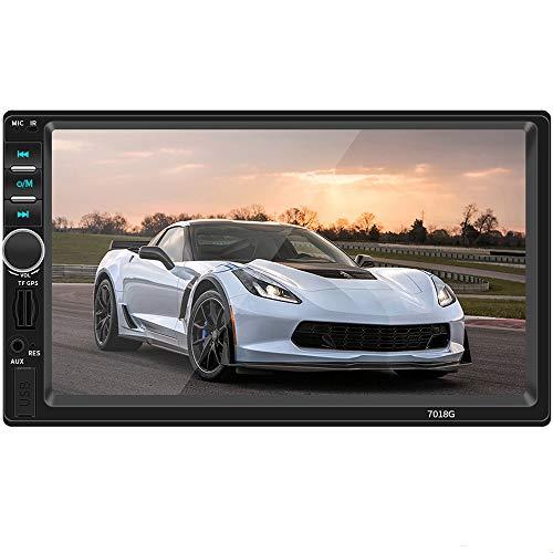7 Zoll 2 DIN TFT Bluetooth Auto MP5 Player GPS Navigator,HD Telefonverbindung MP3 MP4 Radio Auto Digital Media Player Geeignet Für Android-System Miteinander Verbunden