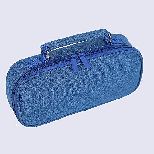 Lápiz Caja De Lápiz De Gran Capacidad Bolsa De Lápiz De Papelería Papelería De Oficina De Papelería con Caja De Almacenamiento De Compartimiento Adecuado para Niños Y Niñas