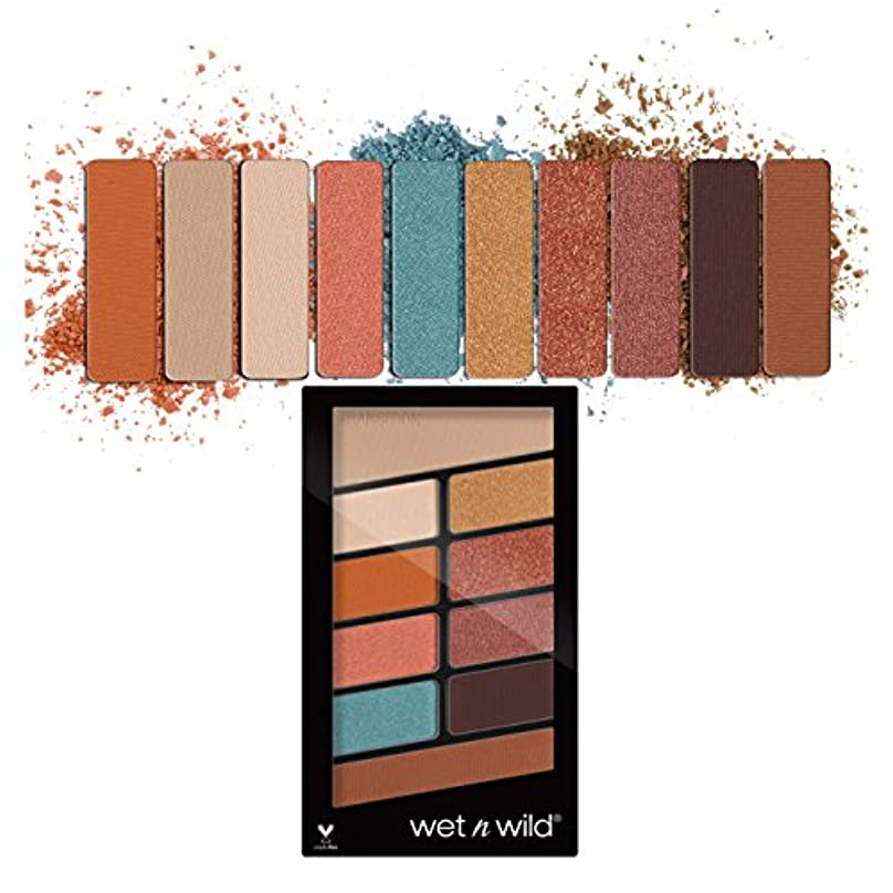 管理する懐メロディー(3 Pack) WET N WILD Color Icon Eyeshadow 10 Pan Palette - Not A Basic Peach (並行輸入品)