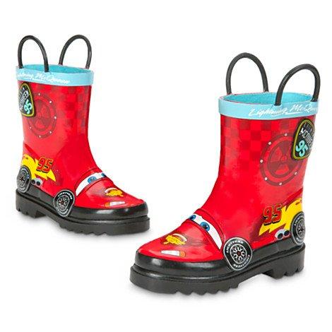 Disney Bottes de Pluie Pixar Cars pour Enfants-Taille UK Taille 6 / UE 23