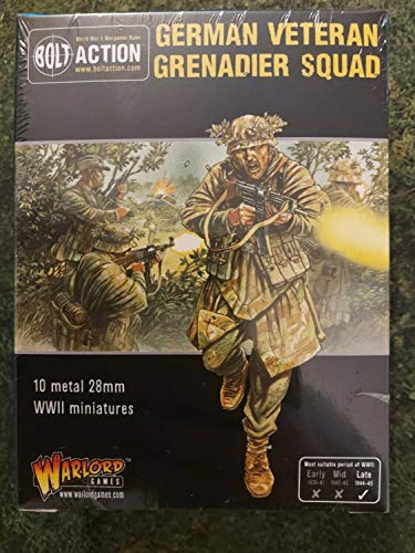 Bolt Action - German Veteran Grenadier Squad - Late WWII Infantry - Warlord Games by Warlord Games