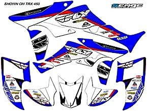 Senge Graphics Kit Compatible with Honda 2006-2016 TRX 450R, 13 Fly Racing Blue Graphics Kit