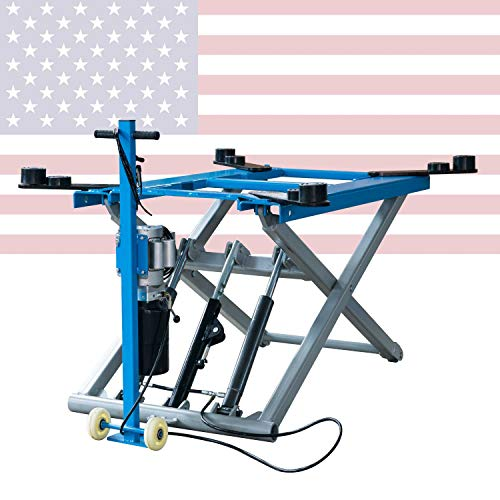 XK 6200 lb 220V Rise Scissor Automotive Lift Hydraulic Movable Lift 12 Month...