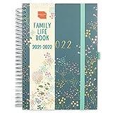 (in inglese) 'Family Life Book' Boxclever Press diario scuola 2021 2022. Agenda 2021 2022 A5, 7 colonne. Diario 2021 2022 16 mesi, metà Ago'21-Dic '22. Planner settimanale con lista cose da fare.