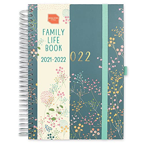 Boxclever Press Family Life Book 2021-2022 Diary. Academic Diary 2021-2022...