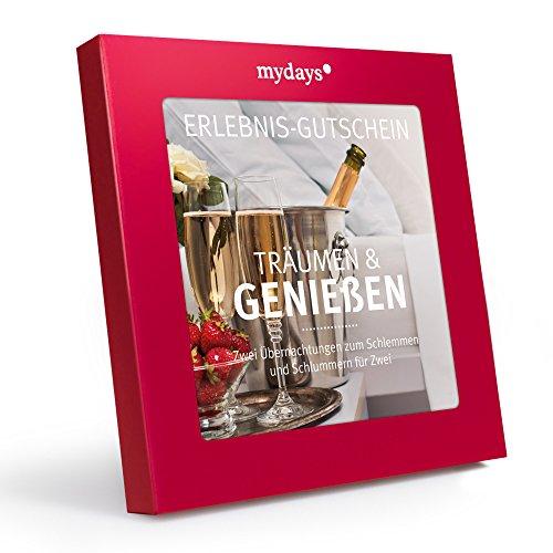 mydays Hotel-Gutschein 'Träumen & Genießen' | 2 Personen, 2 Übernachtungen, über 30 Hotels | Wochenendtrip für Zwei, Weihnachten