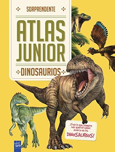 Dinosaurios: Sorprendente Atlas Junior ⭐