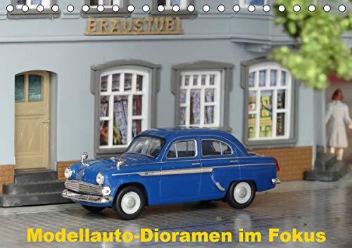 Modellauto-Dioramen im Fokus (Tischkalender 2021 DIN A5 quer)