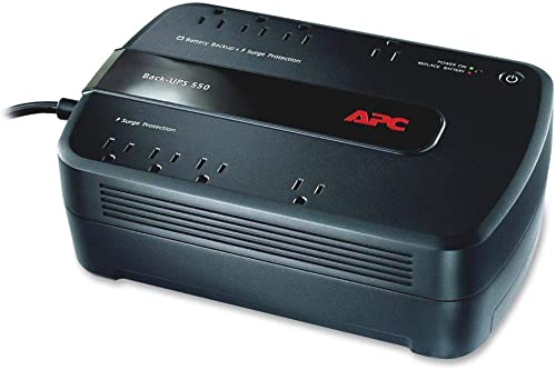 APC Back-UPS 650VA UPS Battery Backup & Surge Protector (BE650G) - BE650G1