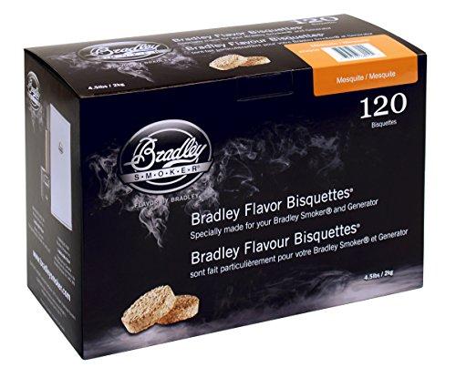 Bradley Smoker BTMQ120 Mesquite Bisquetten 120 Pack