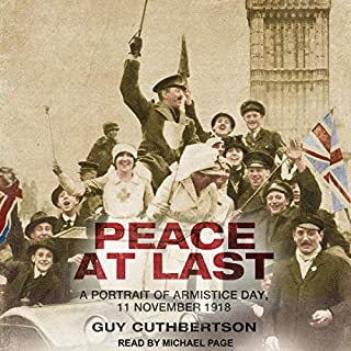 Peace at Last audiobook cover art