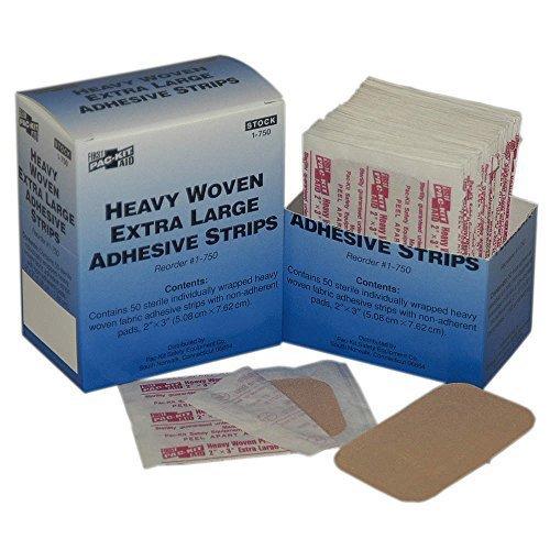 Bandage, Beige, Fabric, Box, PK50 by Pac-Kit