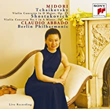 Tchaikovsky: Concerto for Violin and Orch by Midori Goto (2008-11-19)