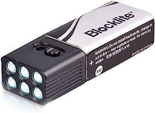 Lanterna portátil de LED Lixada de 9 volts mini lanterna de acampamento super brilhante Pokect bateria lanterna lanterna p...